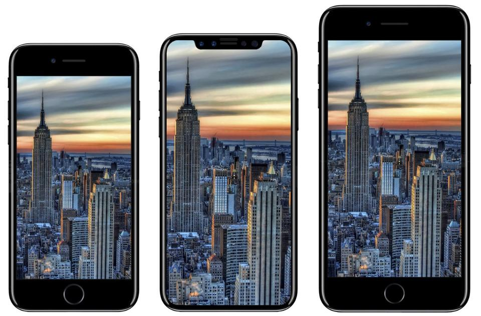 iPhone 8 tre modelli