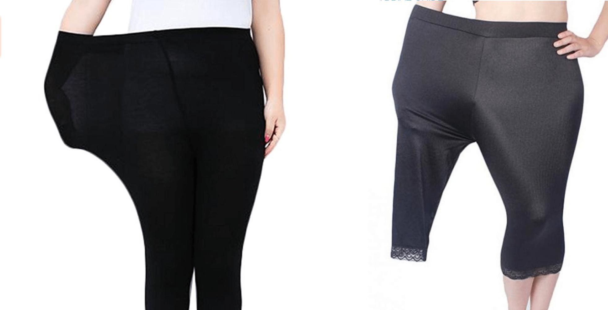 La peggiore promozione possibile per leggins taglie plus-size