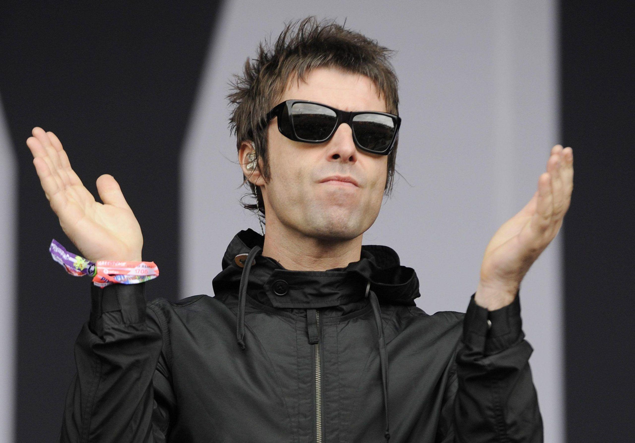 Concerto di Manchester Liam Gallagher