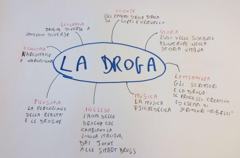mappa concettuale droga
