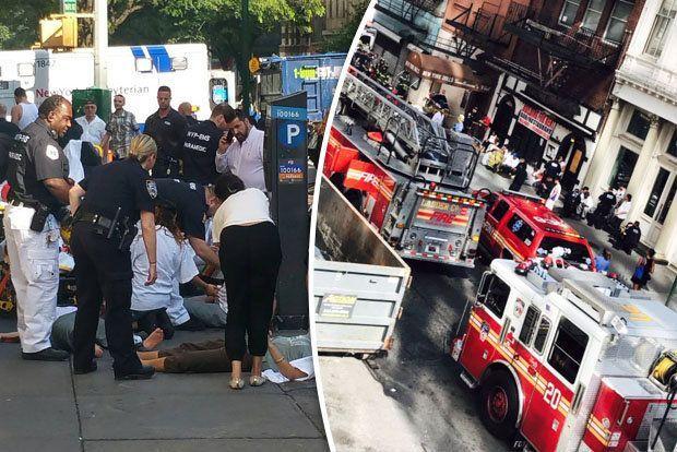 New York: esplode caldaia, panico e feriti a Manhattan
