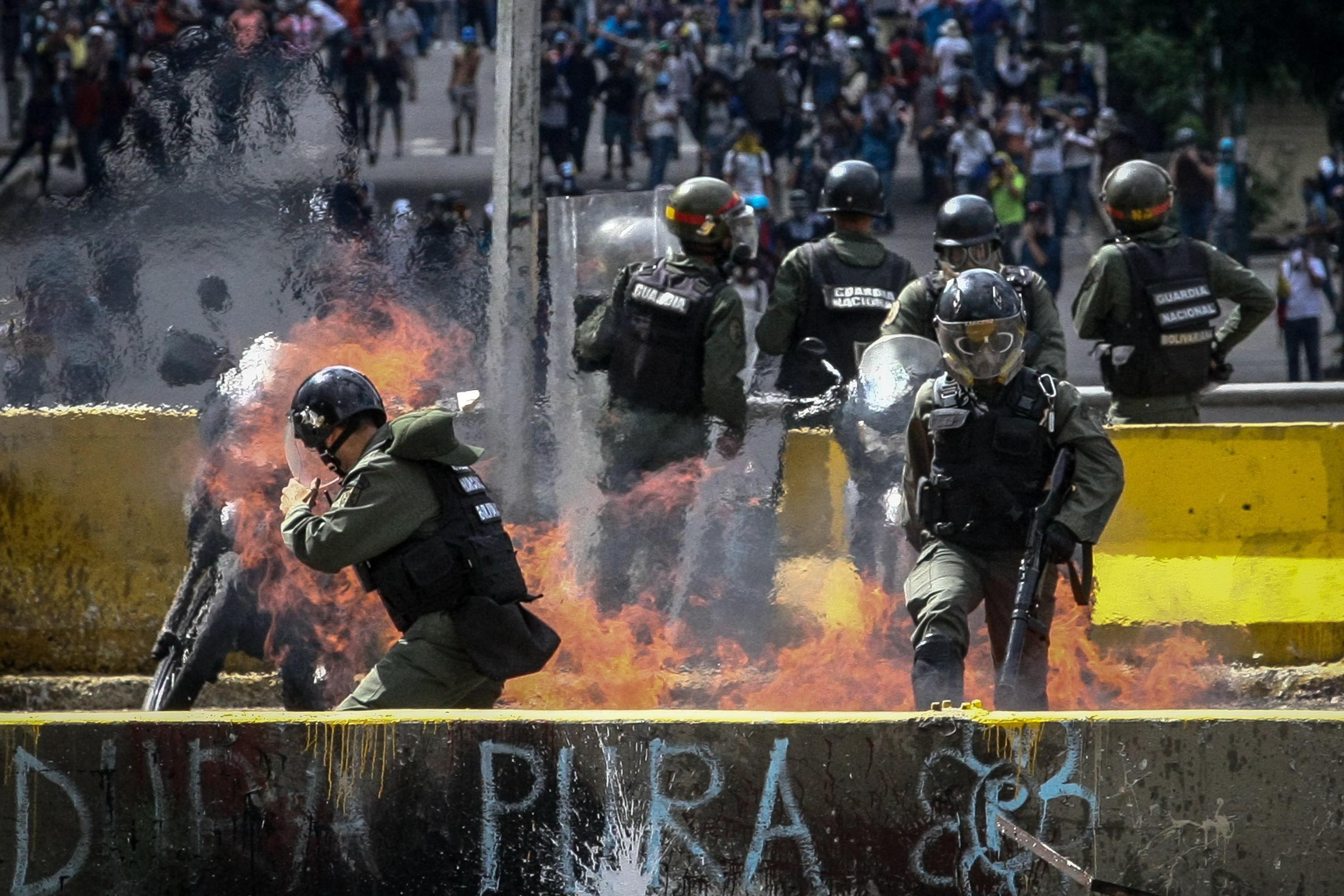 March against the Constituent Assembly in Caracas