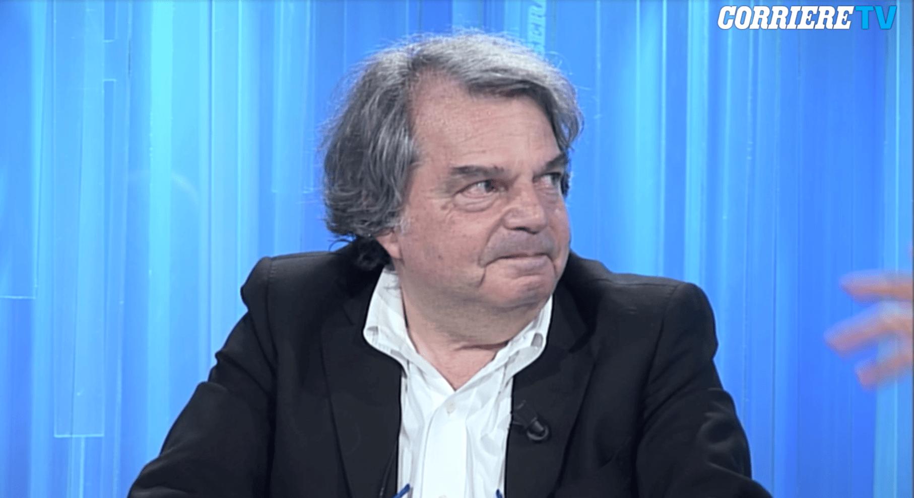 Renato Brunetta piange a Corriere Tv ricordando l'amico morto nella strage di Ustica