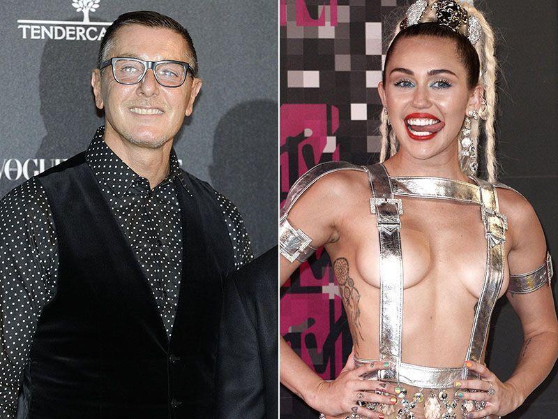 Stefano Gabbana Miley Cyrus