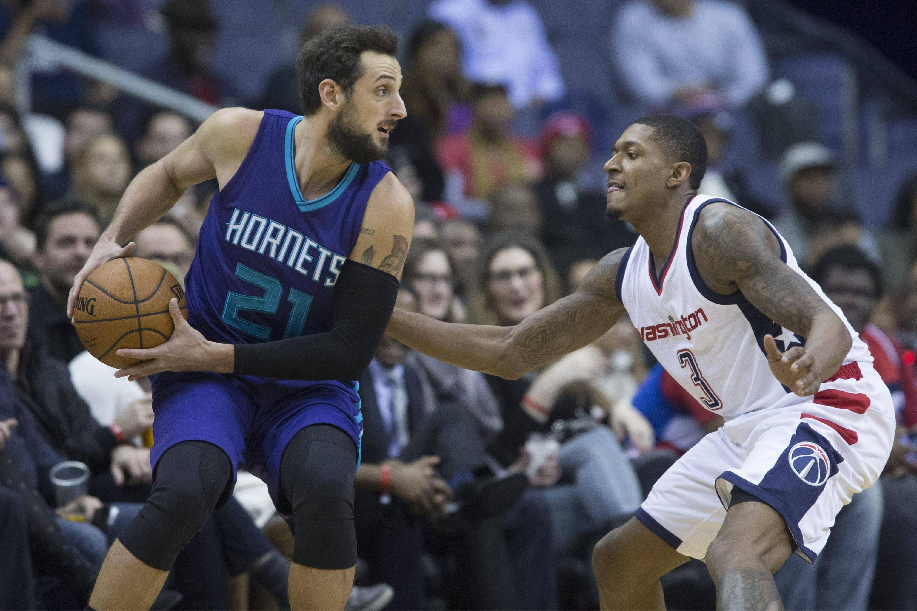 Charlotte Hornets at Washington Wizards