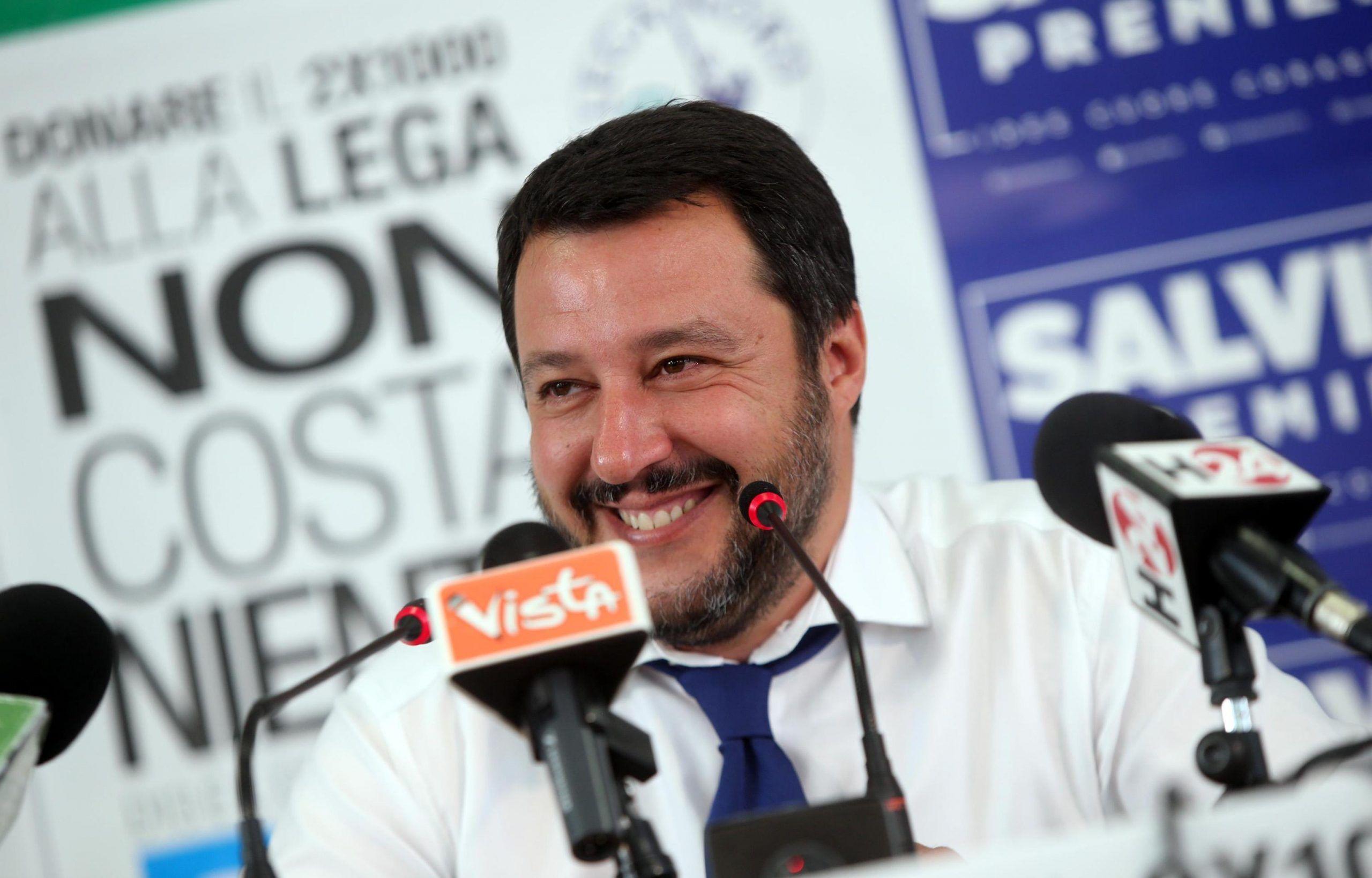 Salvini, ora modello Comunali a livello nazionale