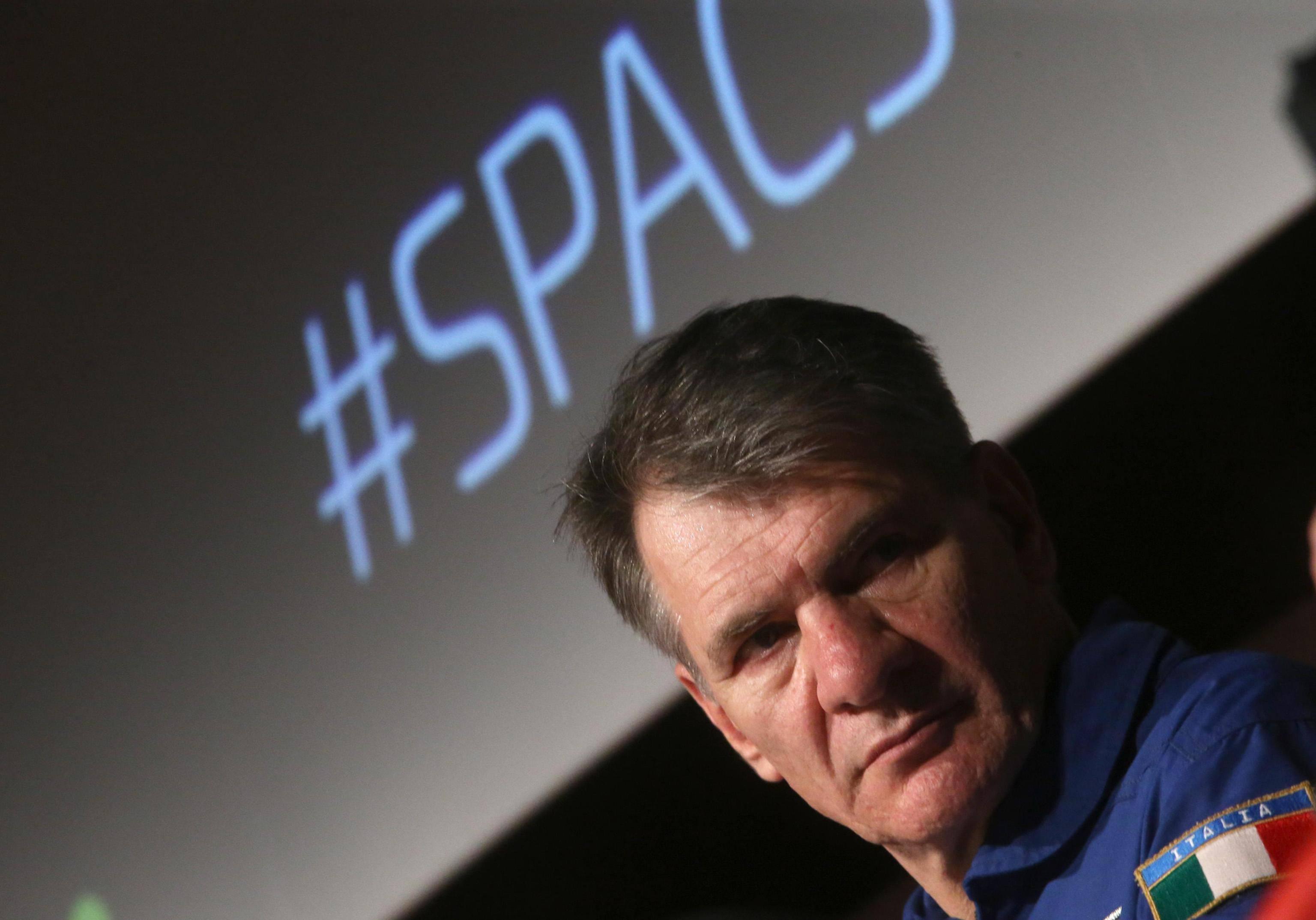 Paolo Nespoli, a 60 anni per la terza volta nello spazio