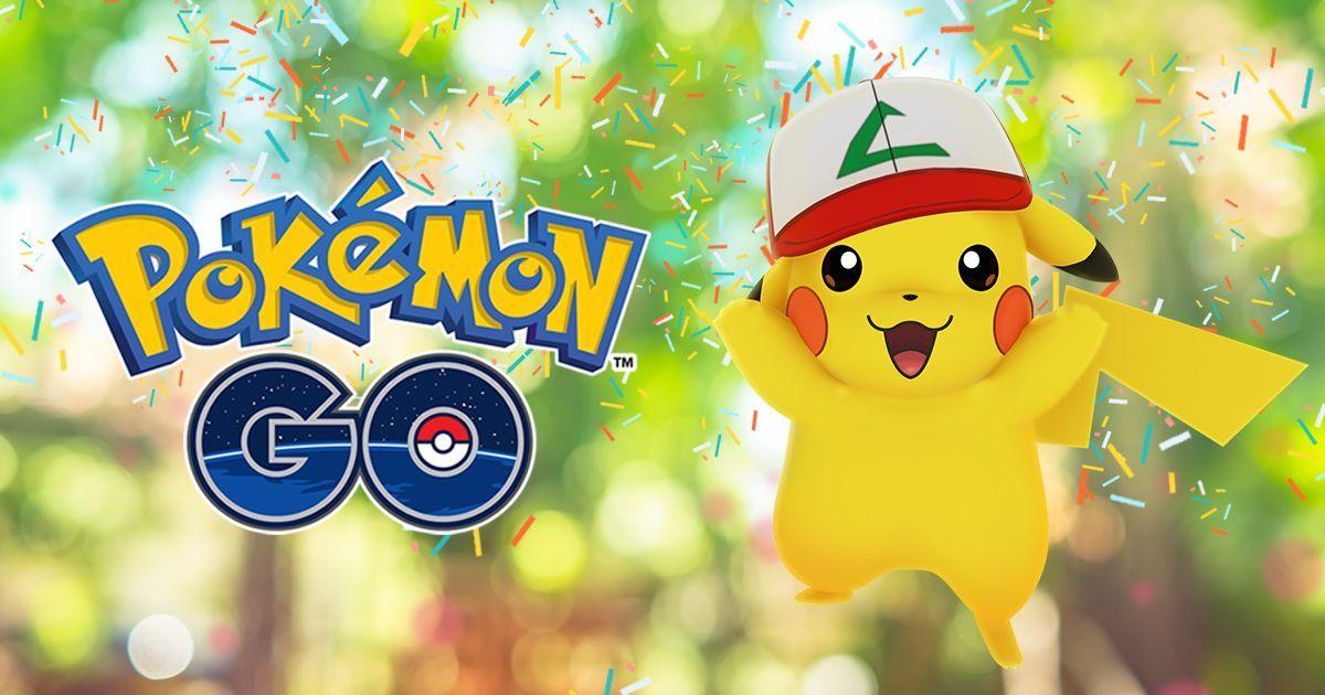 Pokémon GO, un anno dopo si festeggia con un Pikachu raro