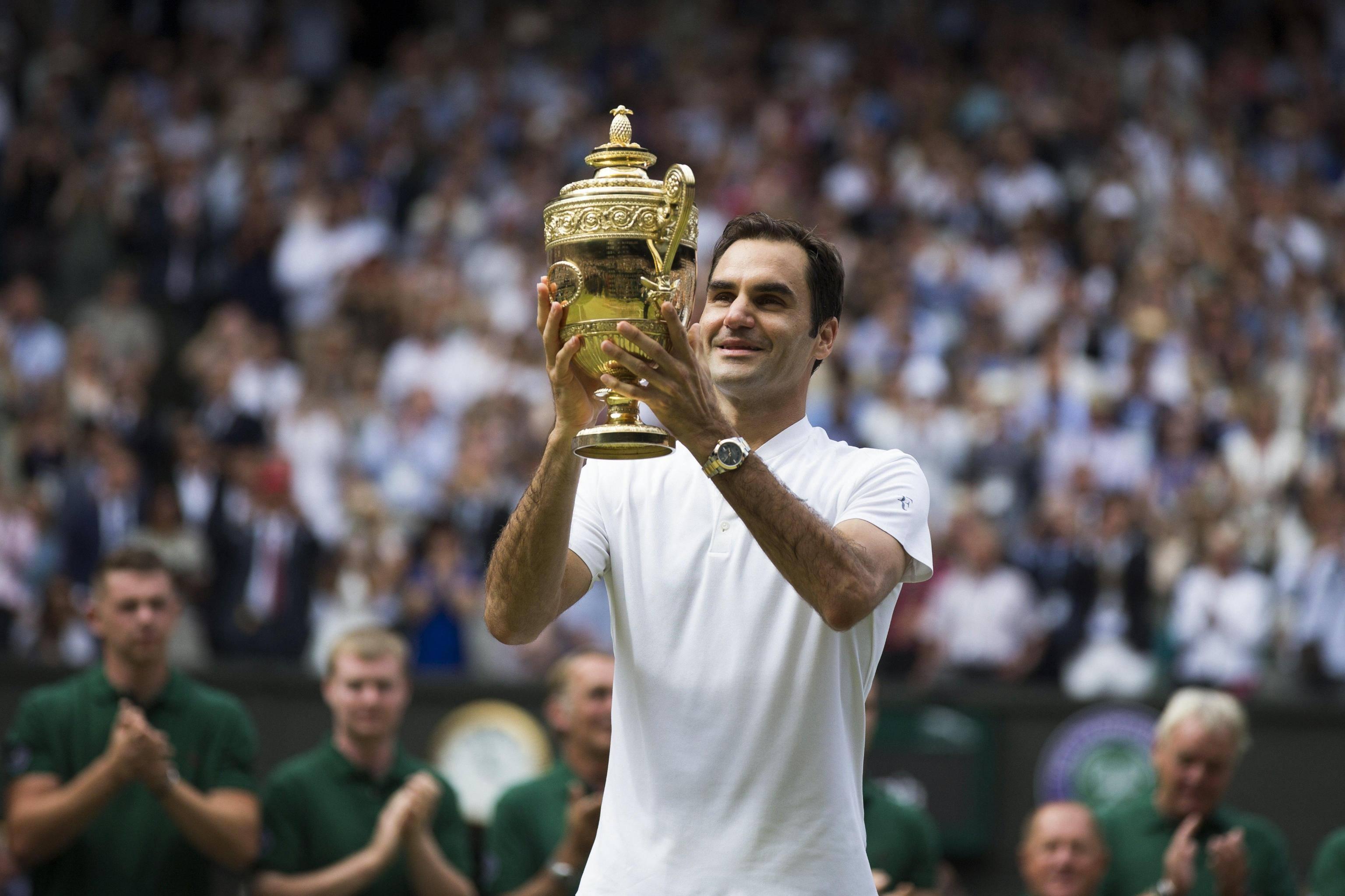 Roger Federer vince Wimbledon: la storia dei suoi 19 Slam