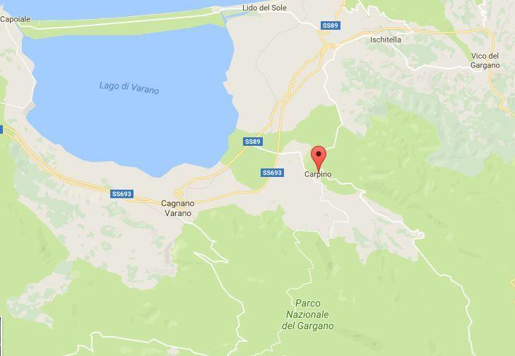 Terremoto in Puglia