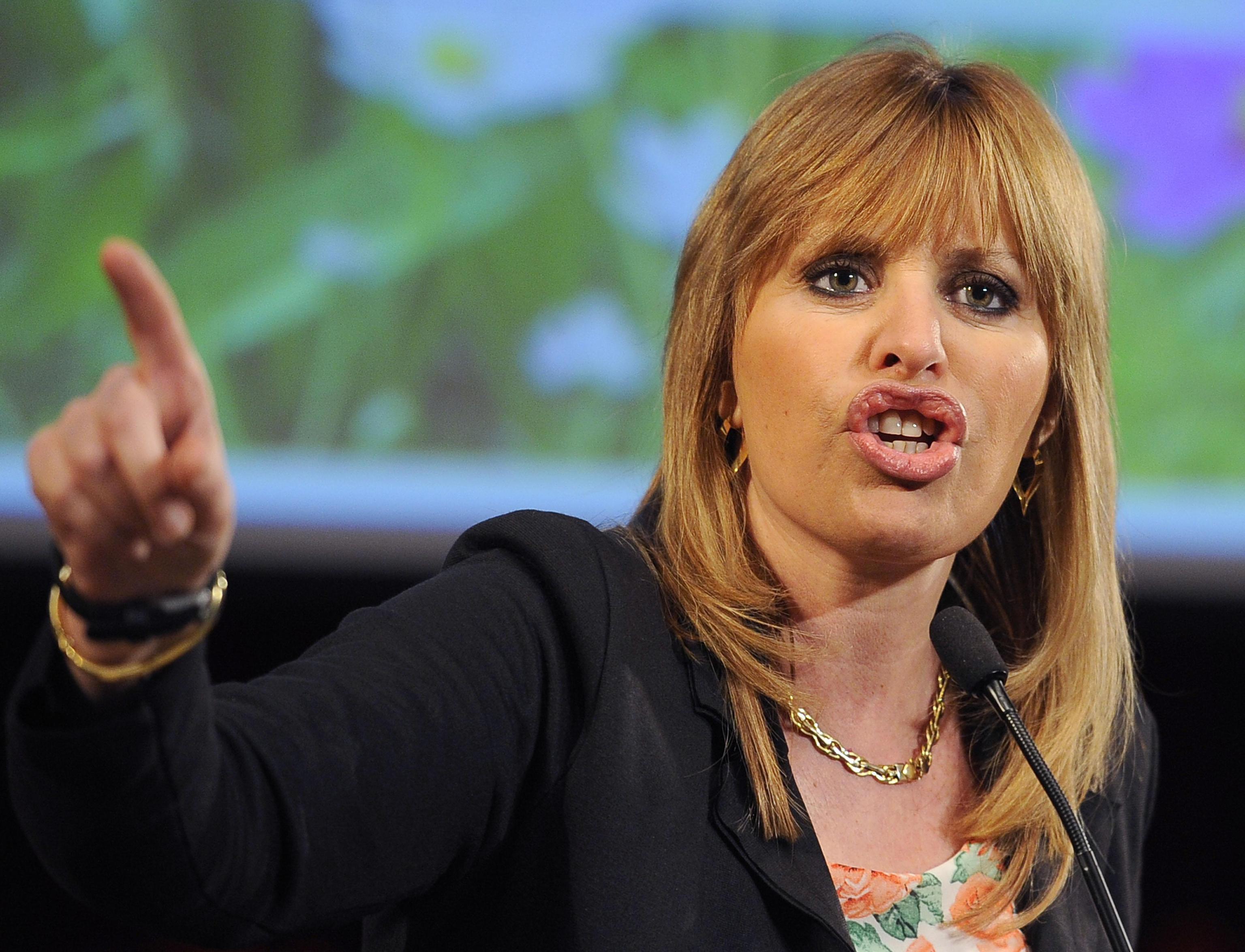 Alessandra Mussolini contro il ddl anti fascismo: 'Con quella legge sono un reato vivente'