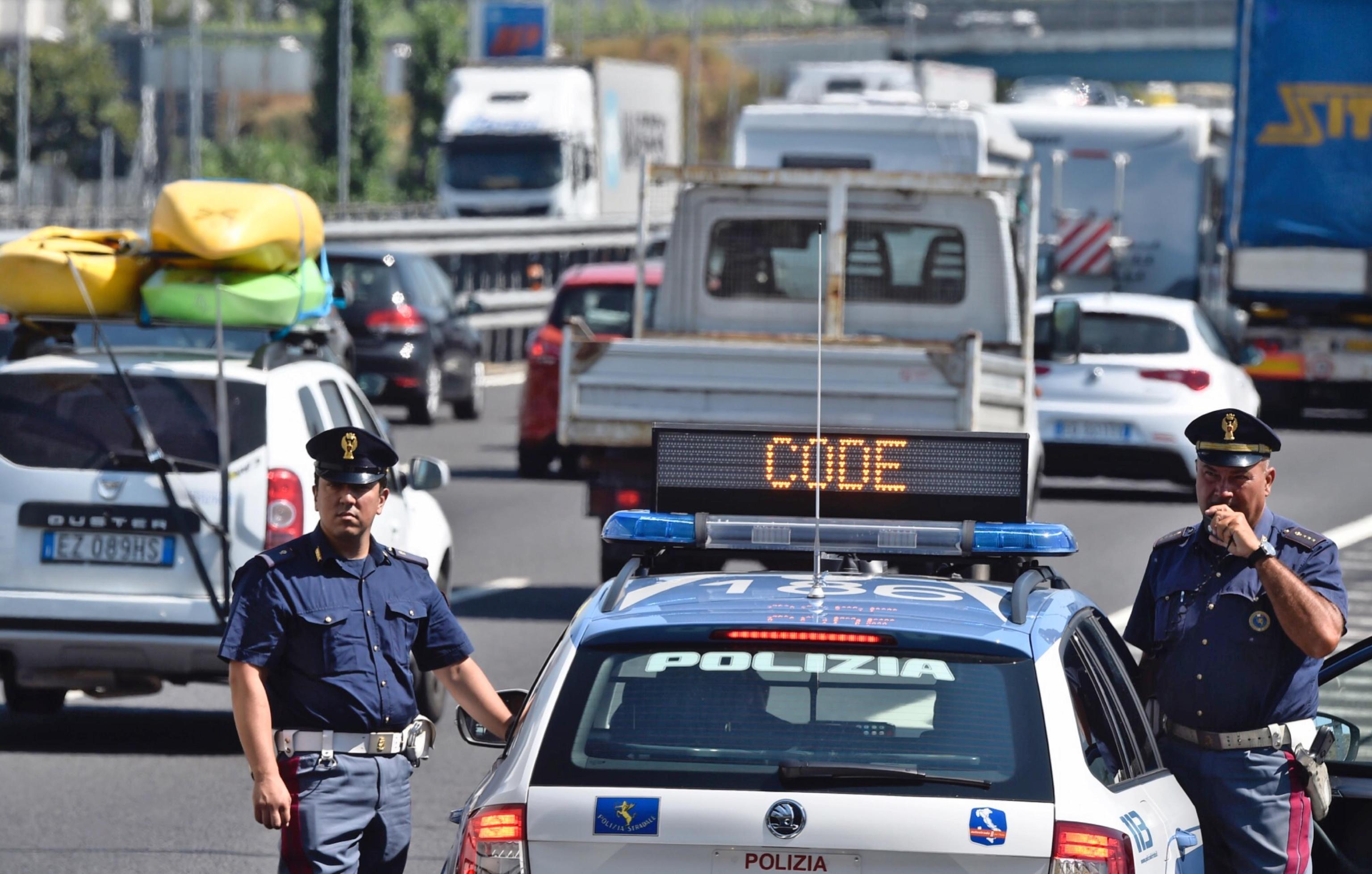 Autostrada A1: incidente tra Incisa e Firenze Sud, in direzione Bologna