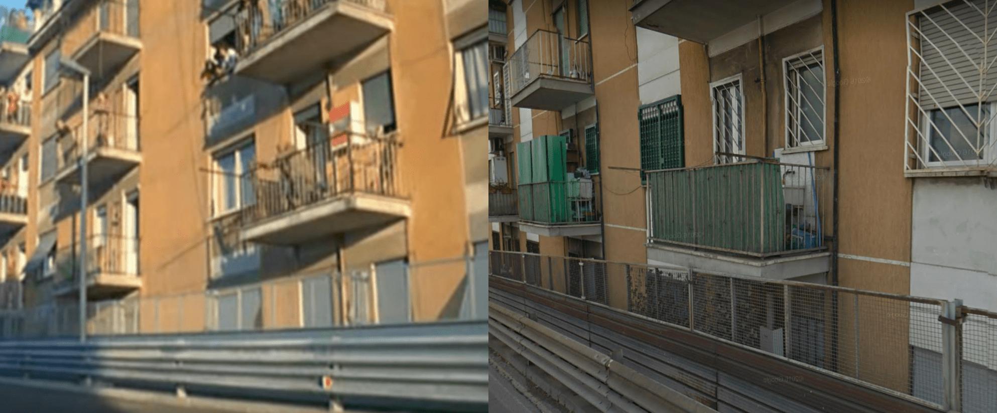 balcone fantozzi vero