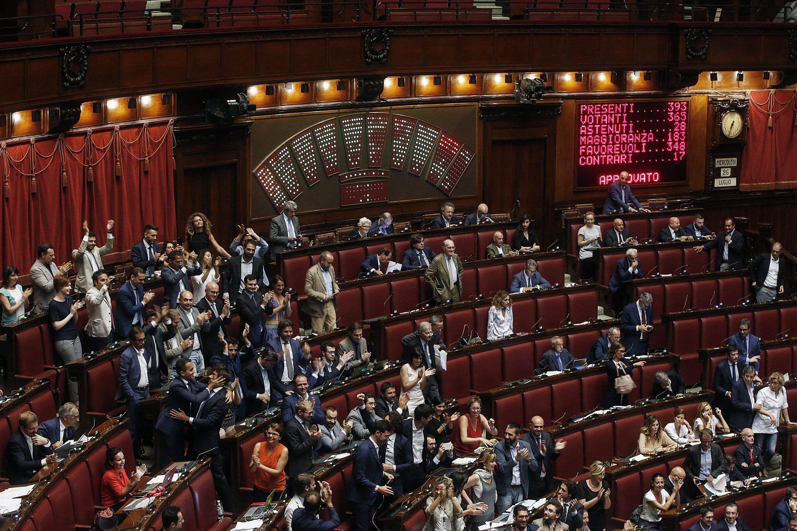 Pensioni parlamentari: l'abolizione dei vitalizi parlamentari è sempre più vicina