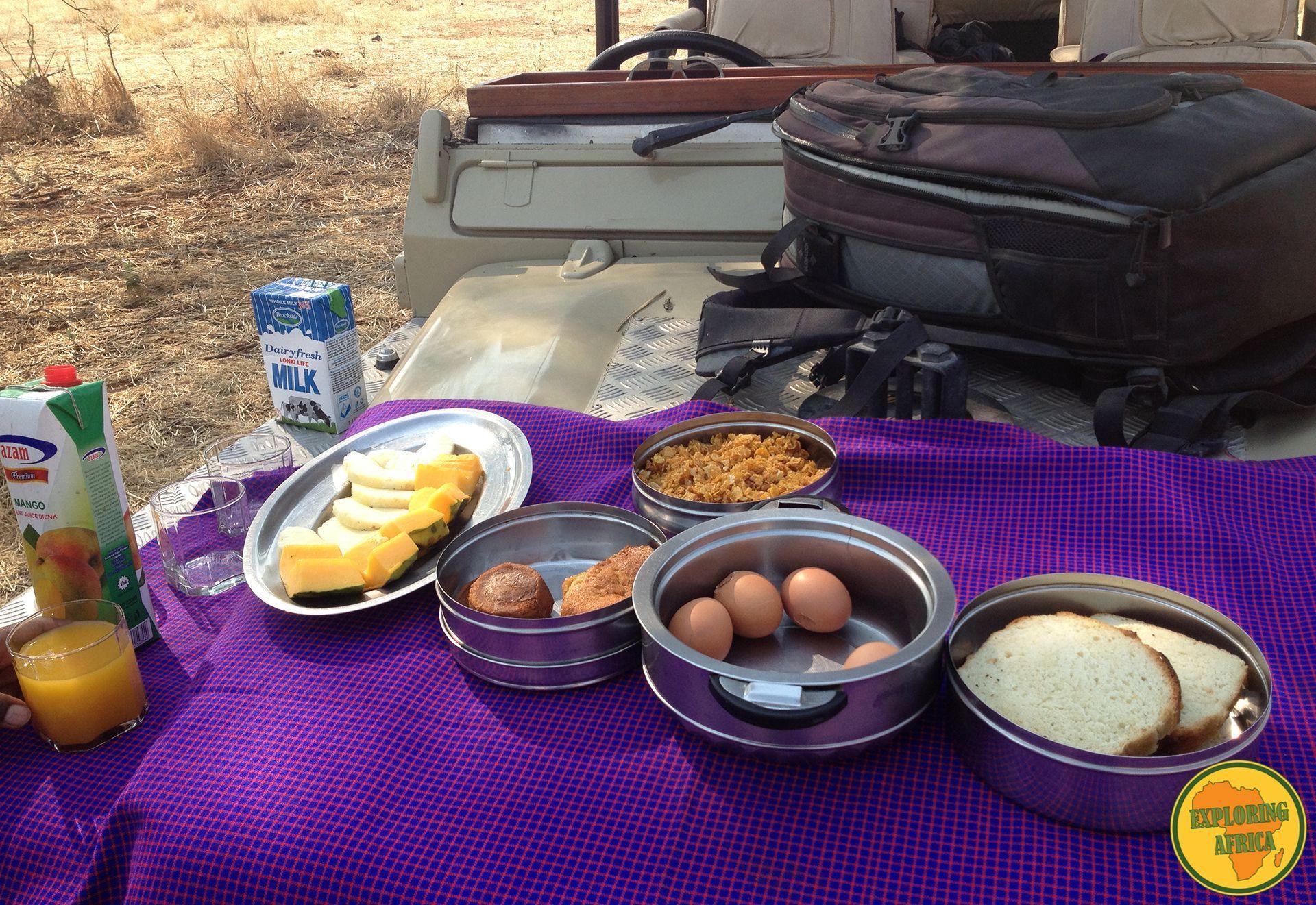 colazione in savana