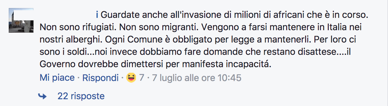commento invasione