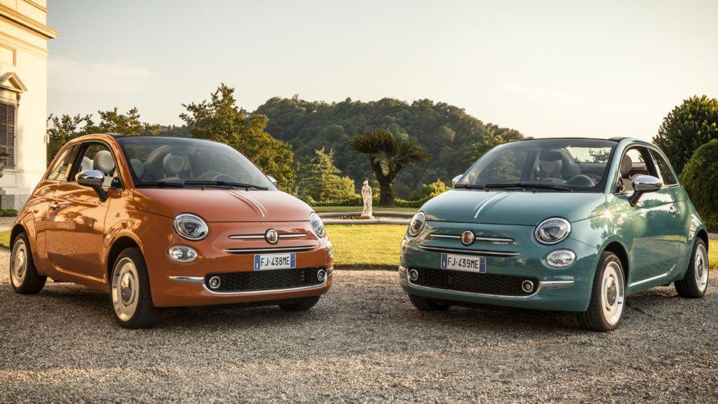 Fiat 500 Anniversario, la versione speciale per celebrare i 60 anni dalla sua nascita