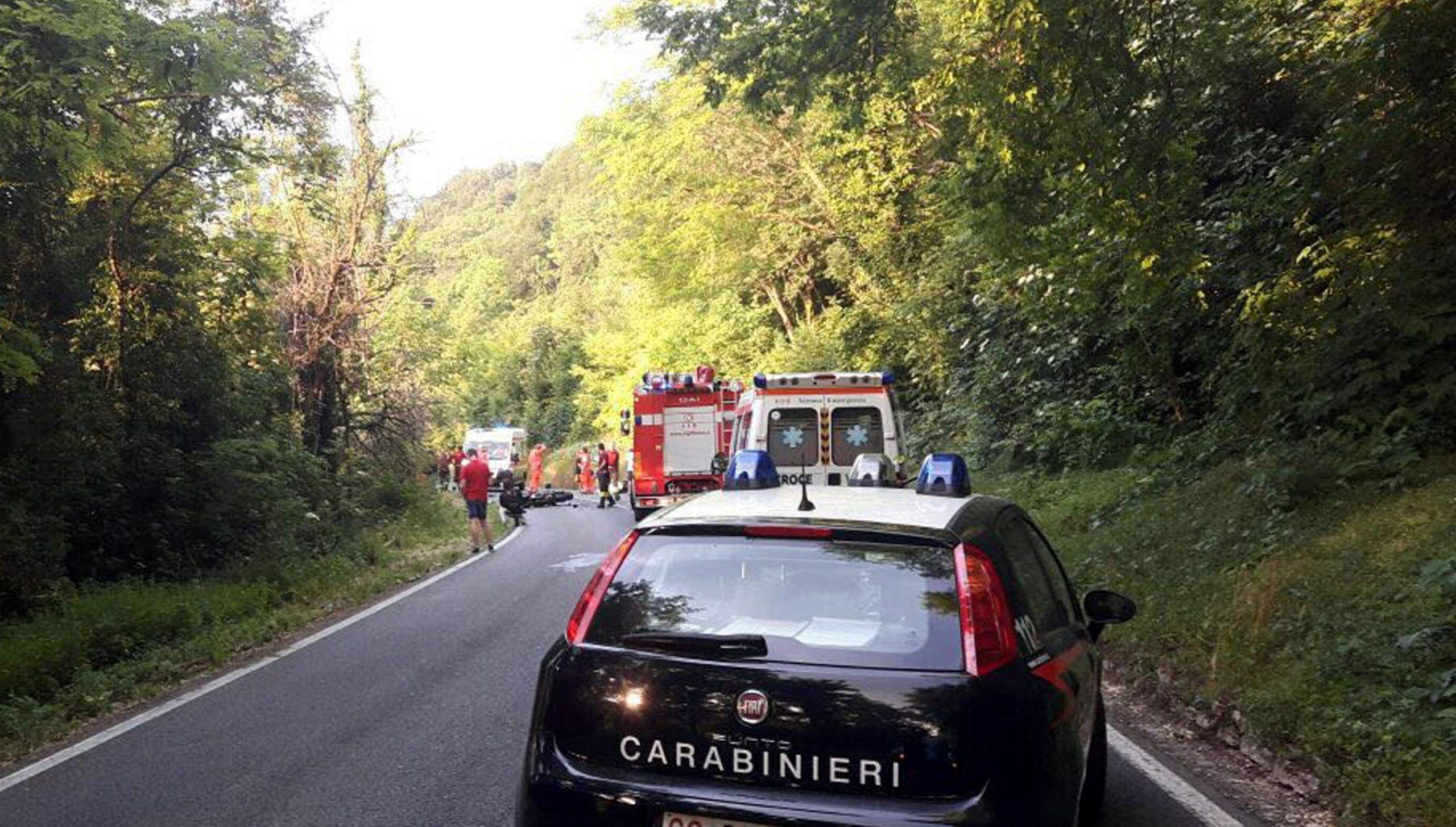 Scontro tra moto nel veronese, due morti e due feriti