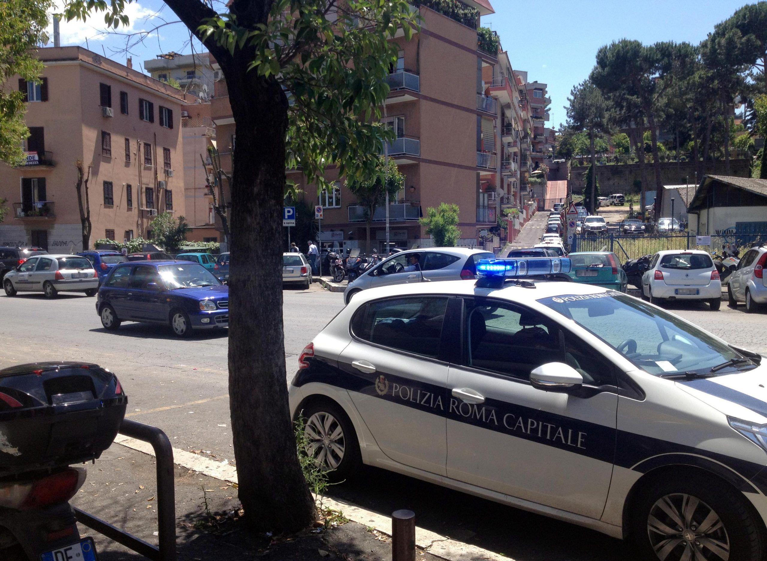 Incidente Roma: via Mattia Battistini
