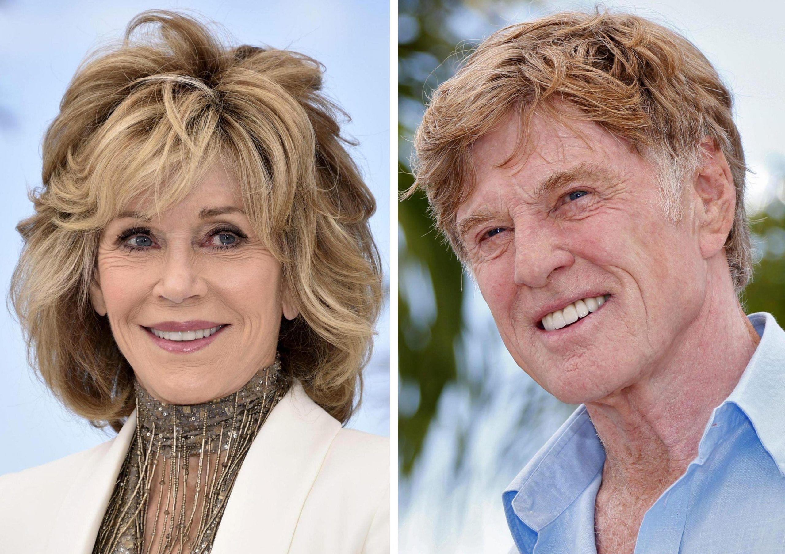 Jane Fonda e Robert Redford Leoni d'Oro alla carriera a Venezia 2017