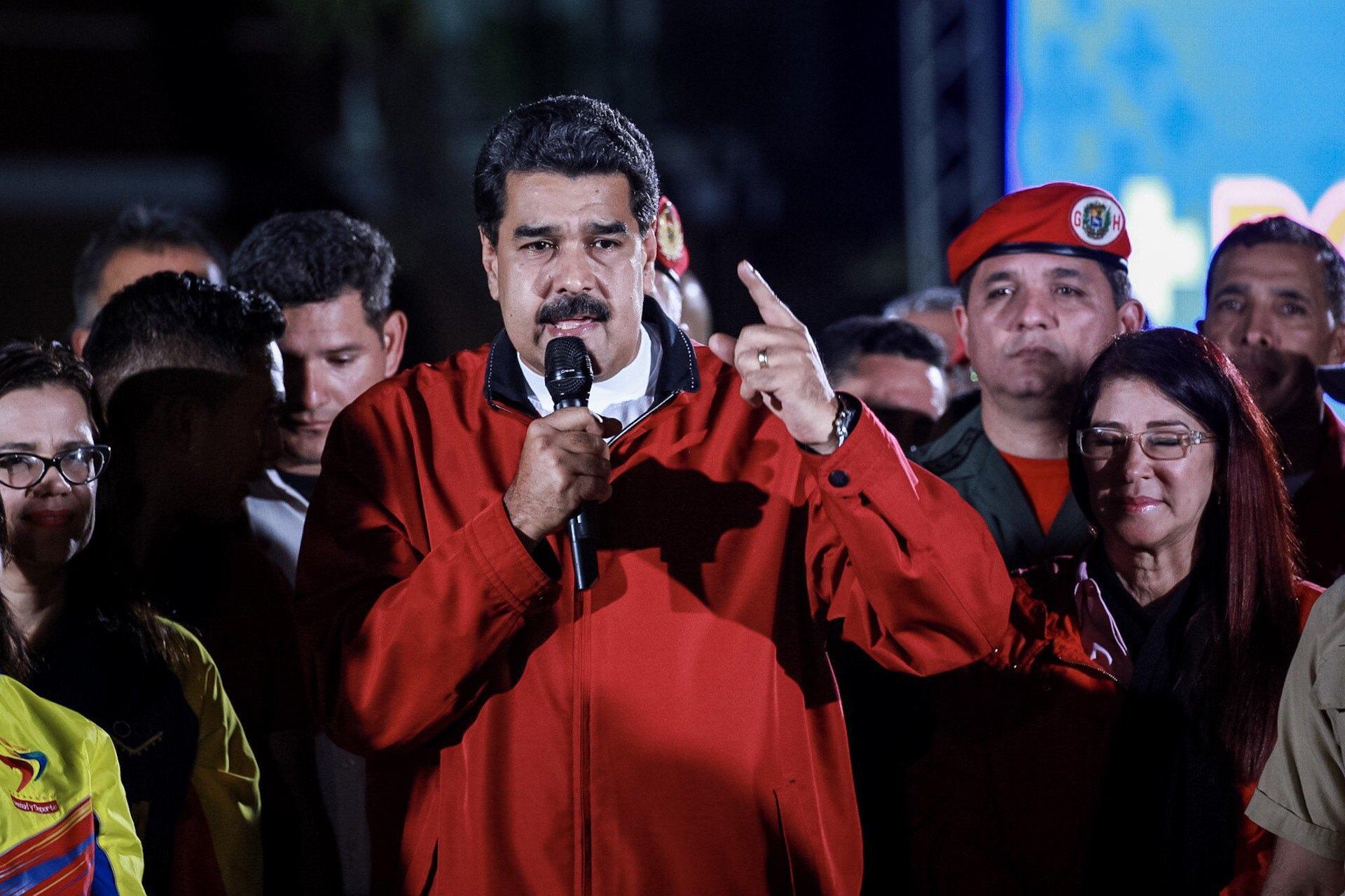 Maduro voto Venezuela