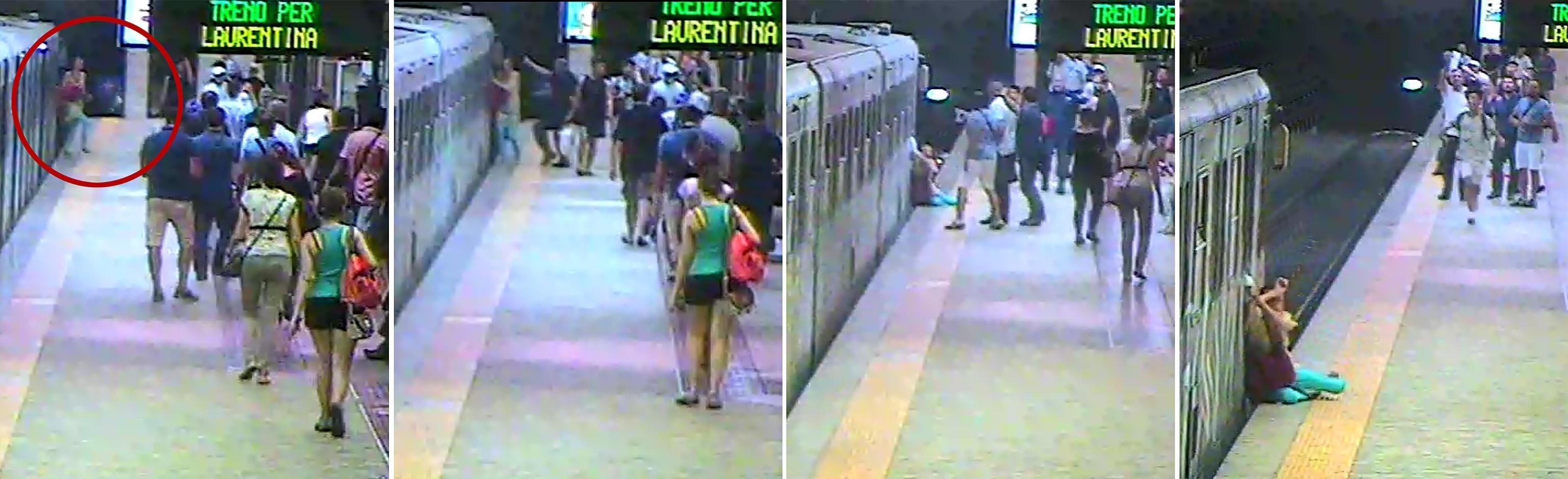 Donna incastrata nella metro a Roma, macchinista sospeso e indagato per lesioni