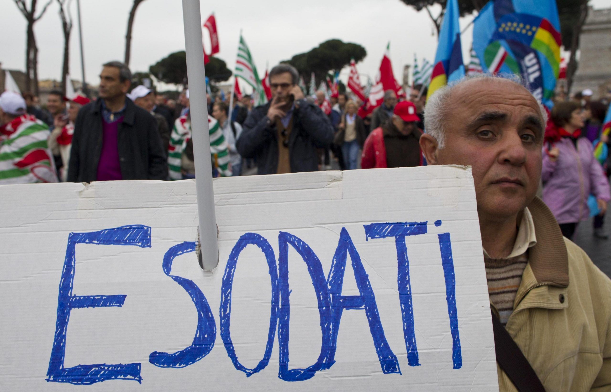 Pensioni ultima ora: manifestazione a Roma il 6 luglio 2017 dei pensionati CONUP