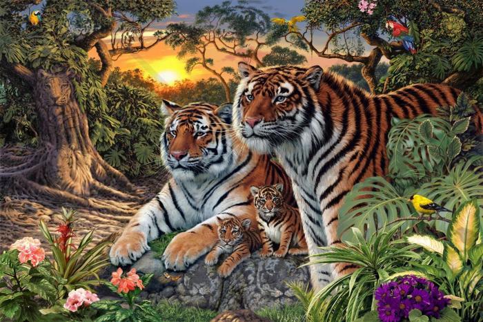 quante tigri