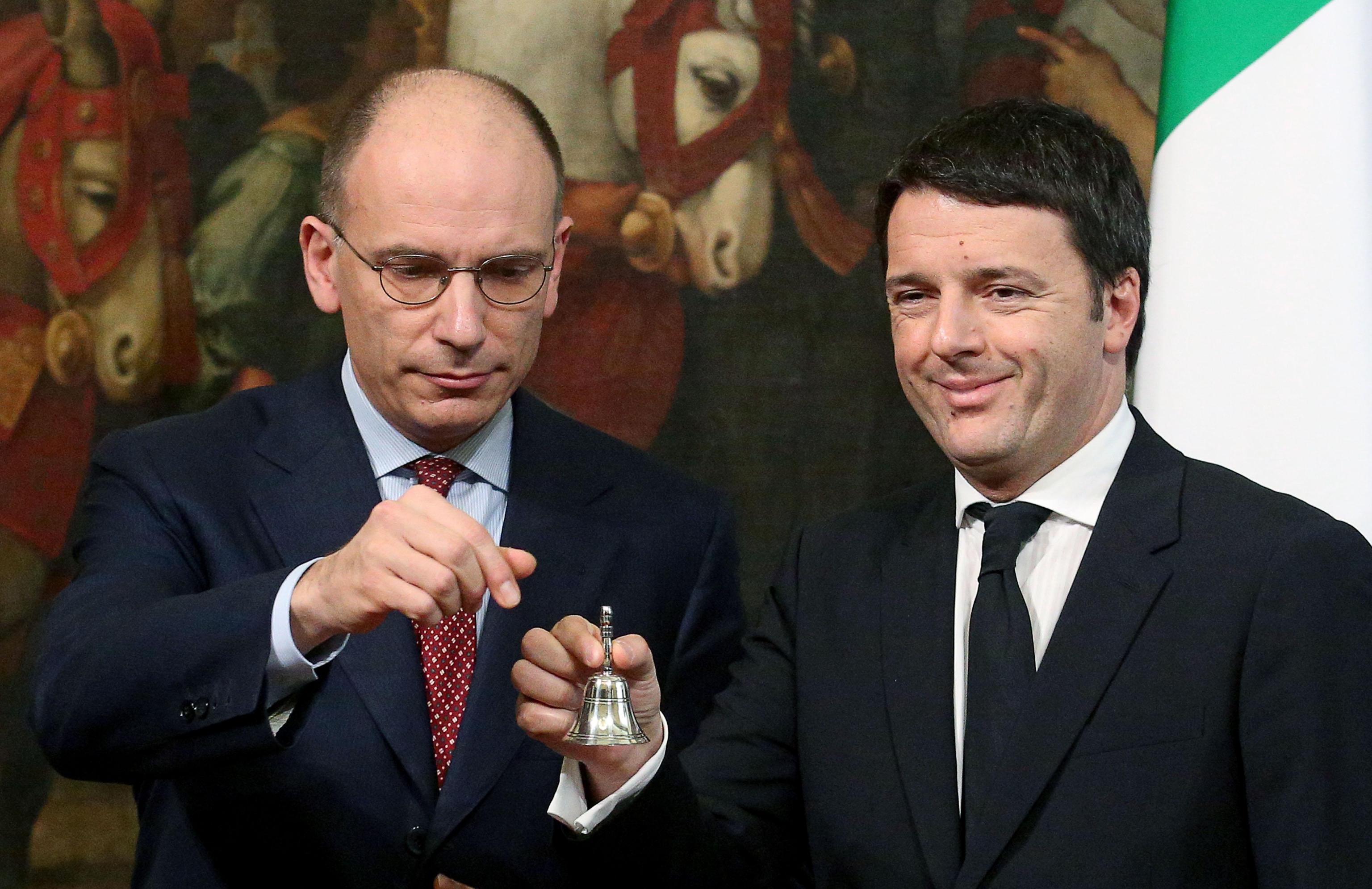 Renzi sworn in