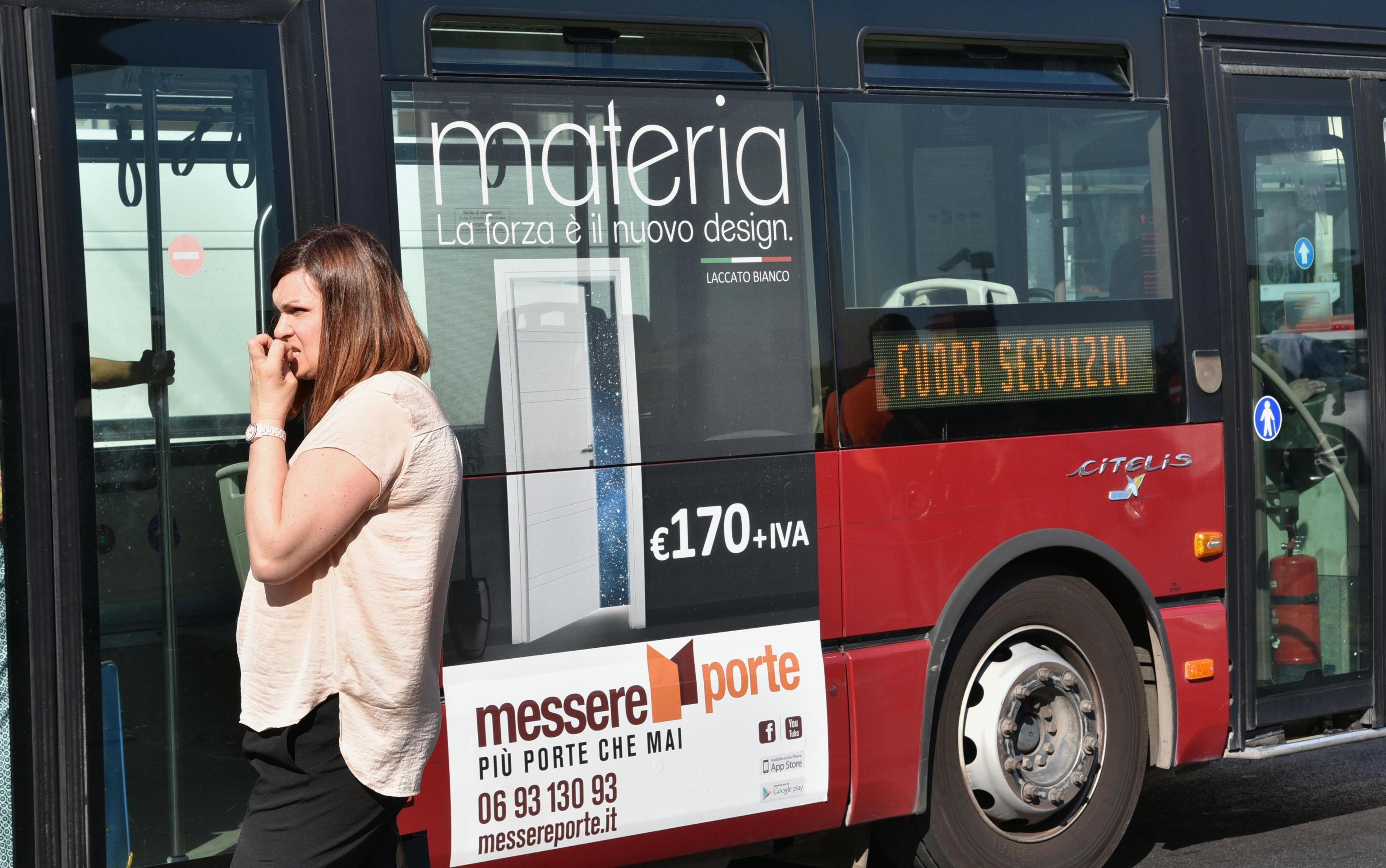 Roma fa schifo? Se pensiamo al trasporto pubblico certamente sì