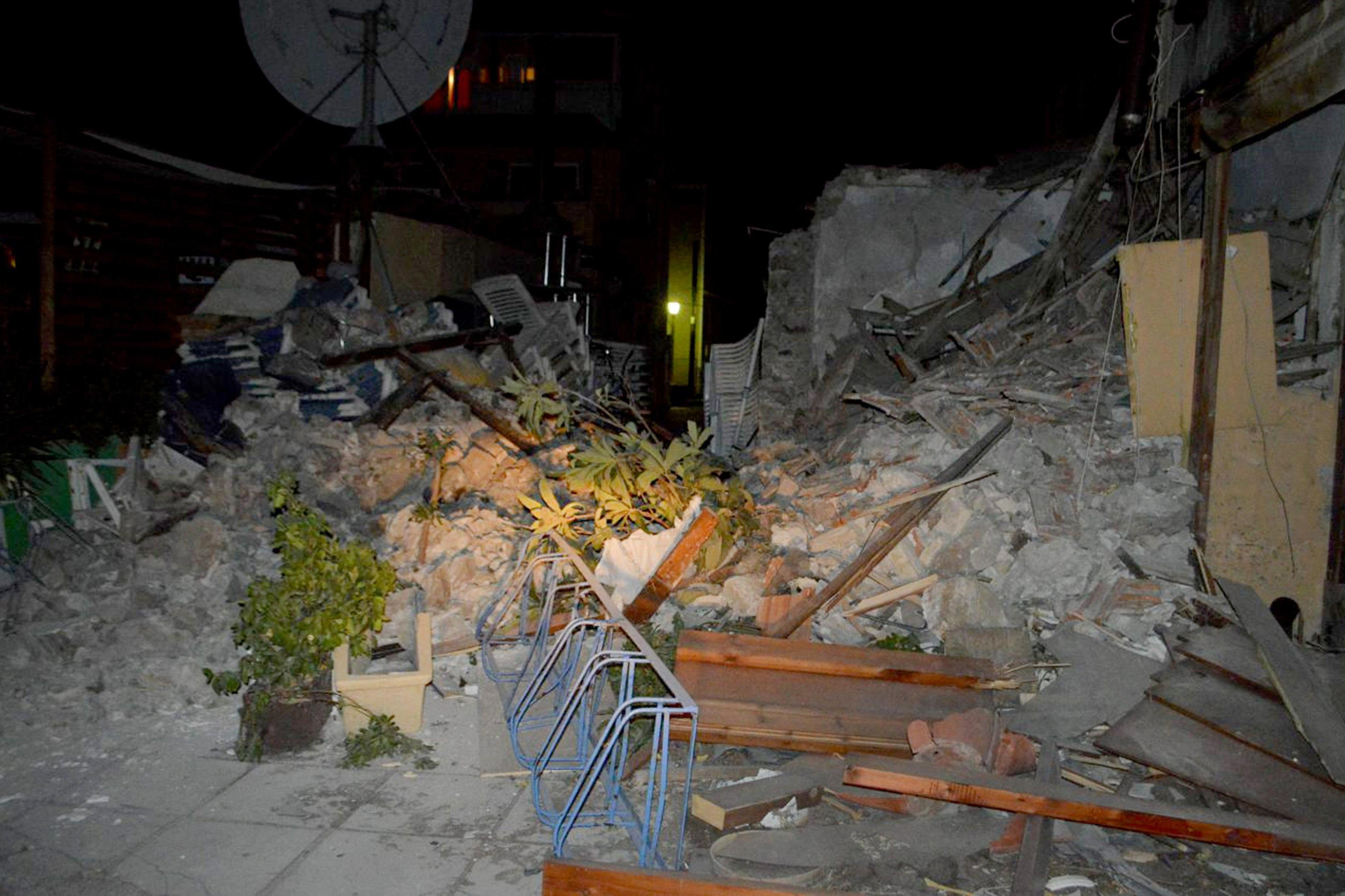 Two deaths from earthquake related damage on island of Kos