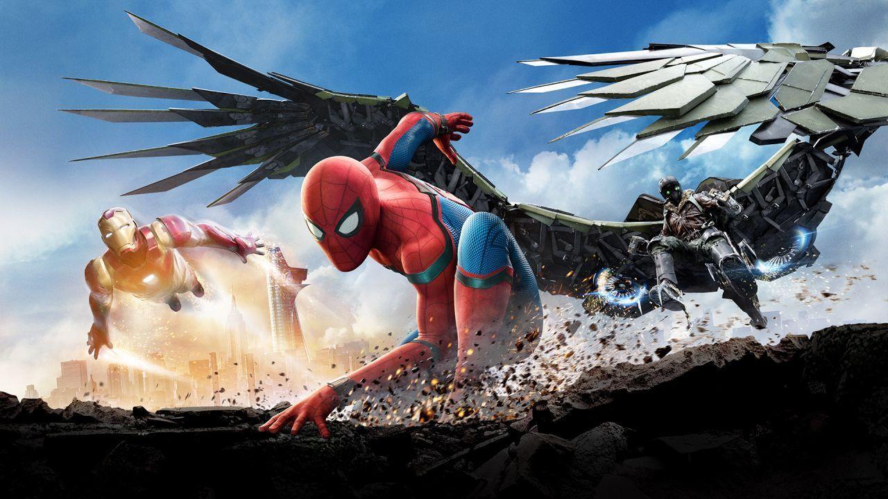 Spiderman Iron Man e l'Avvoltoio