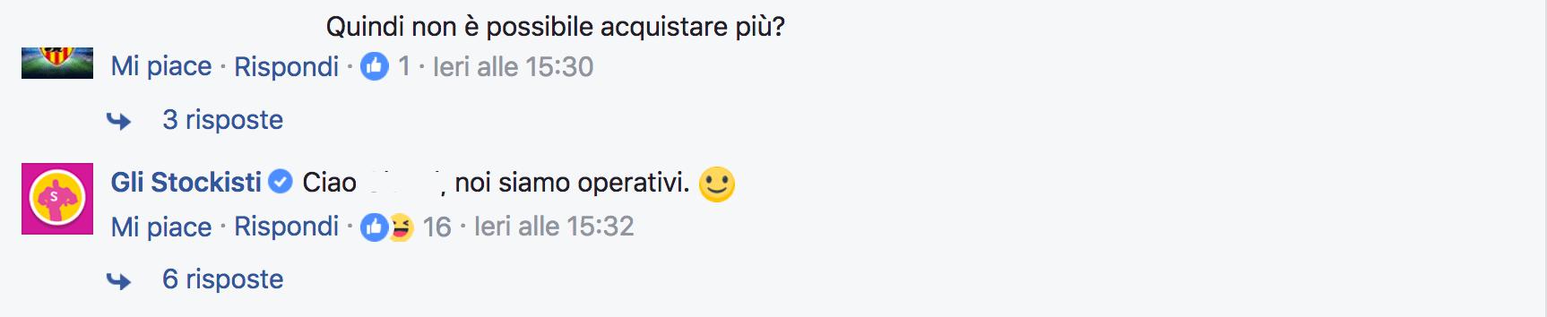 stockisti facebook