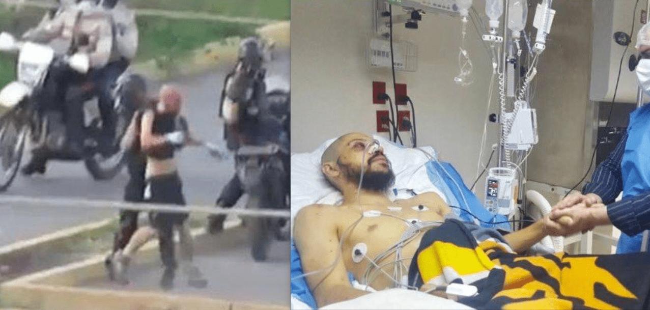 venezuela italiano picchiato Scovino