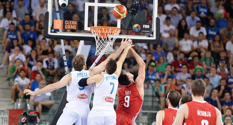 Basket:Italia Croazia