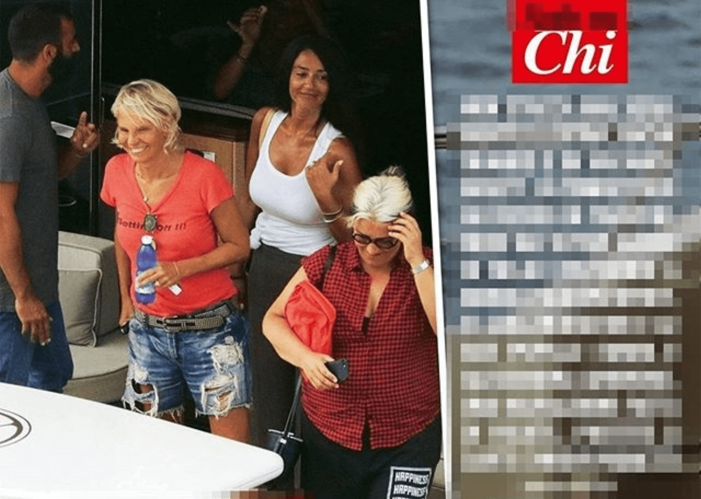 Maria De Filippi in vacanza con Emma Marrone e Alessandra Amoroso: 'Amici' in barca