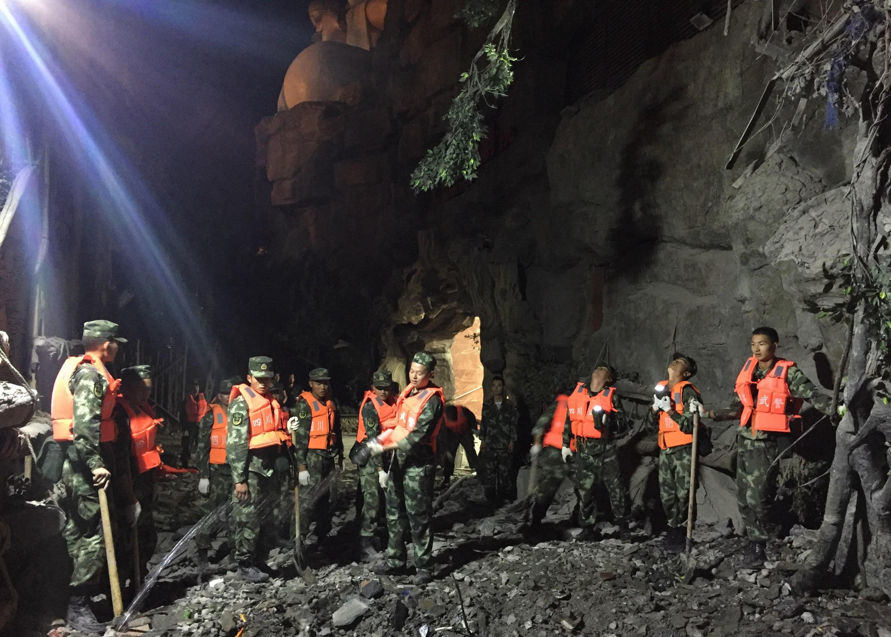 Earthquake strikes China's Sichuan province, killing nine people