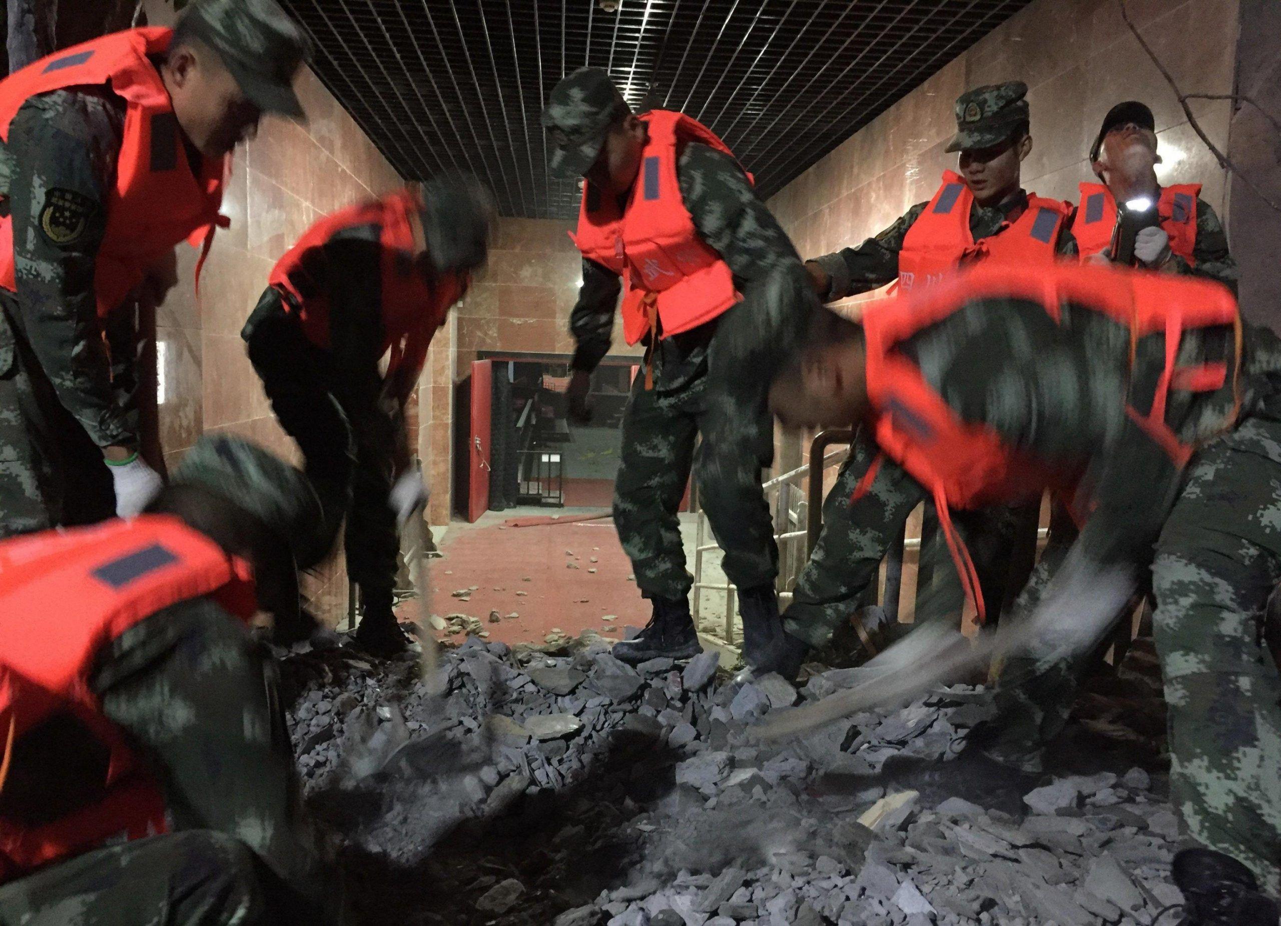 Earthquake strikes China's Sichuan province, killing nine people