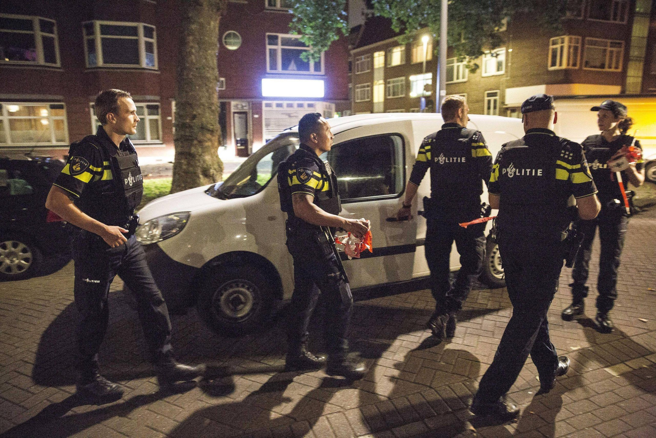 Terror threat after a van packed with gas canisters found in Rotterdam