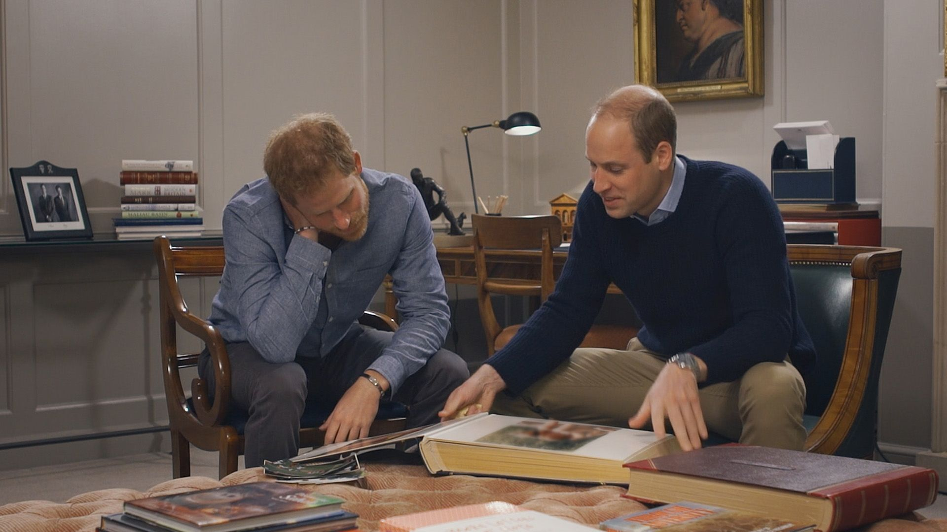 William e Harry nel documentario Diana nostra madre