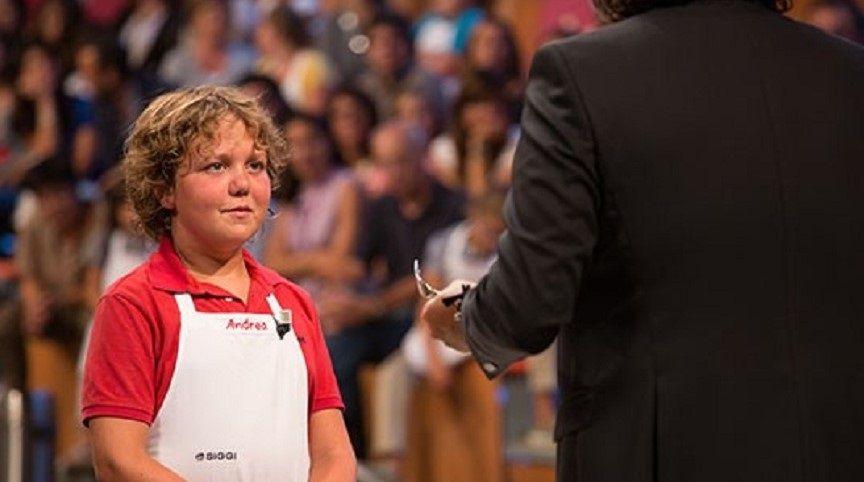 addio a Andrea Pace di Junior Masterchef