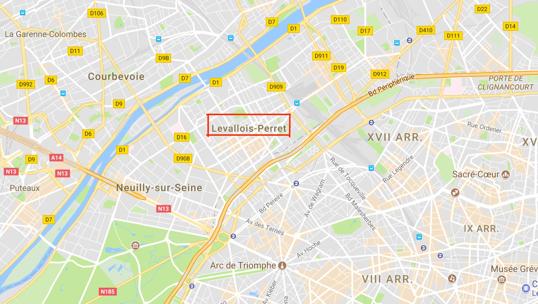cartina attacco parigi