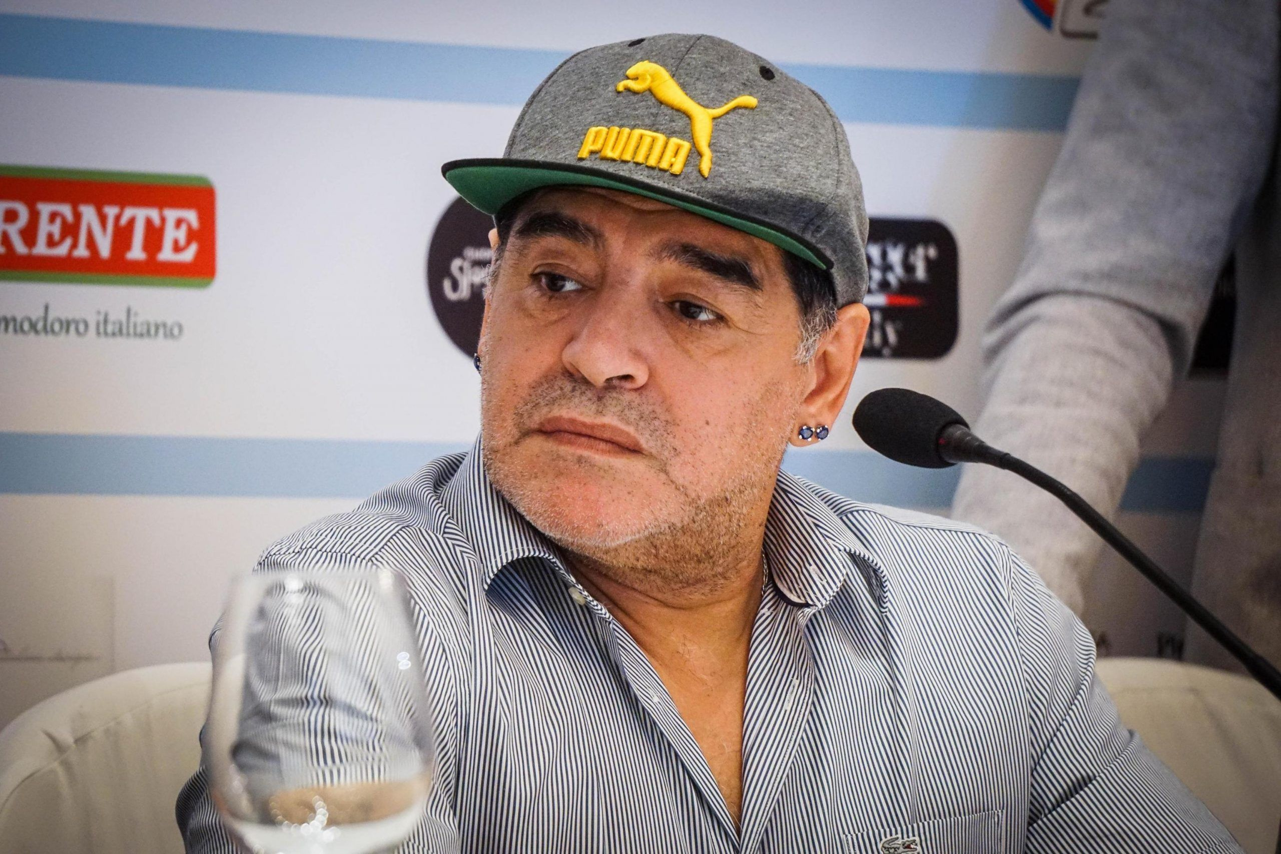 Maradona in Naples