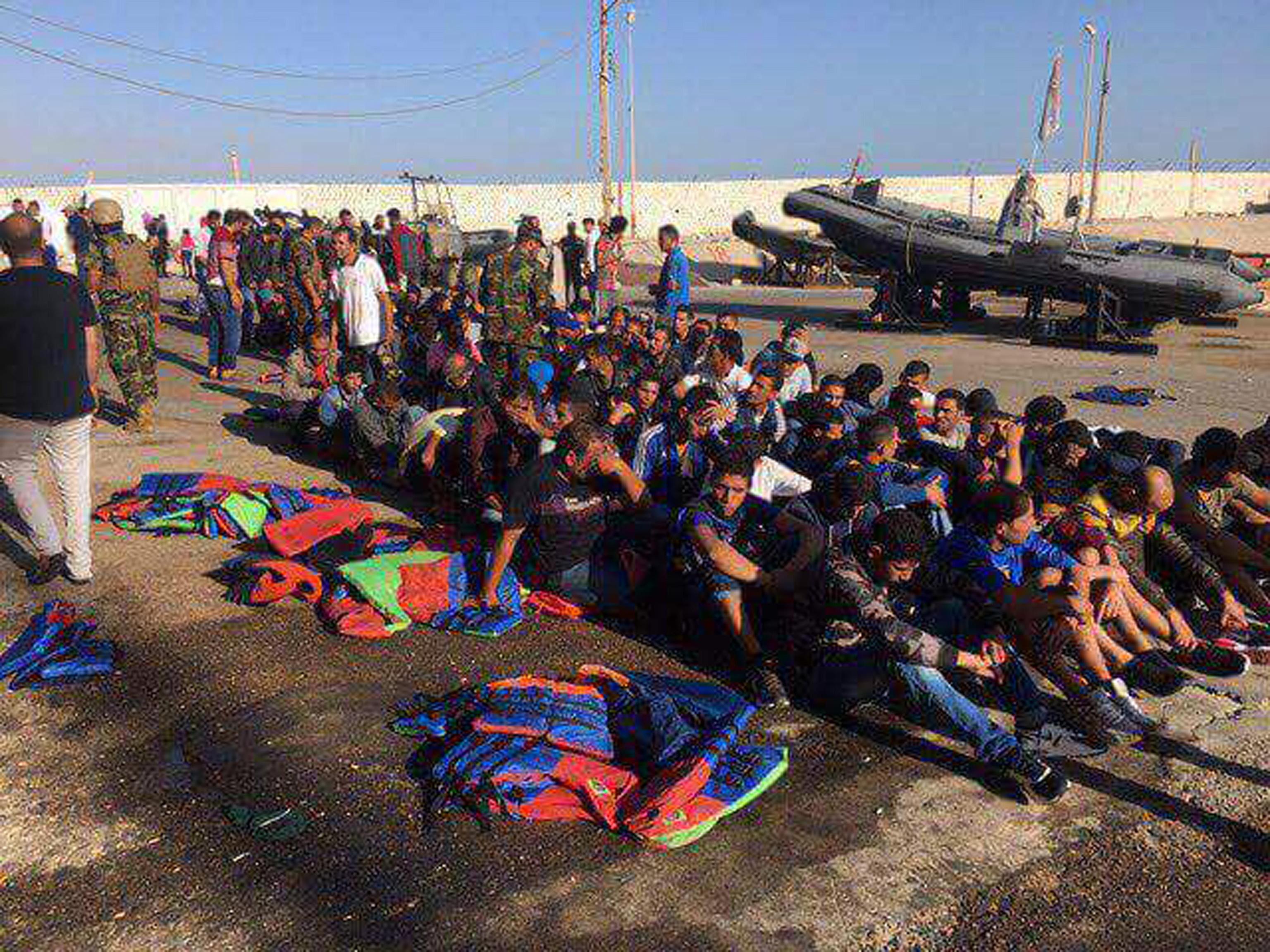 Migranti: guardia costiera libica intercetta imbarcazione