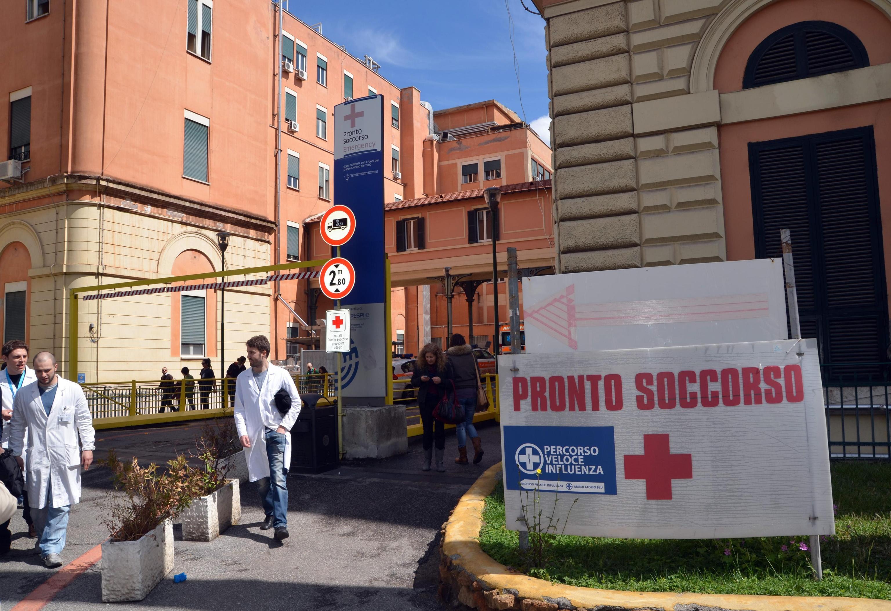 Online la graduatoria del concorso per infermieri del Policlinico Umberto I di Roma
