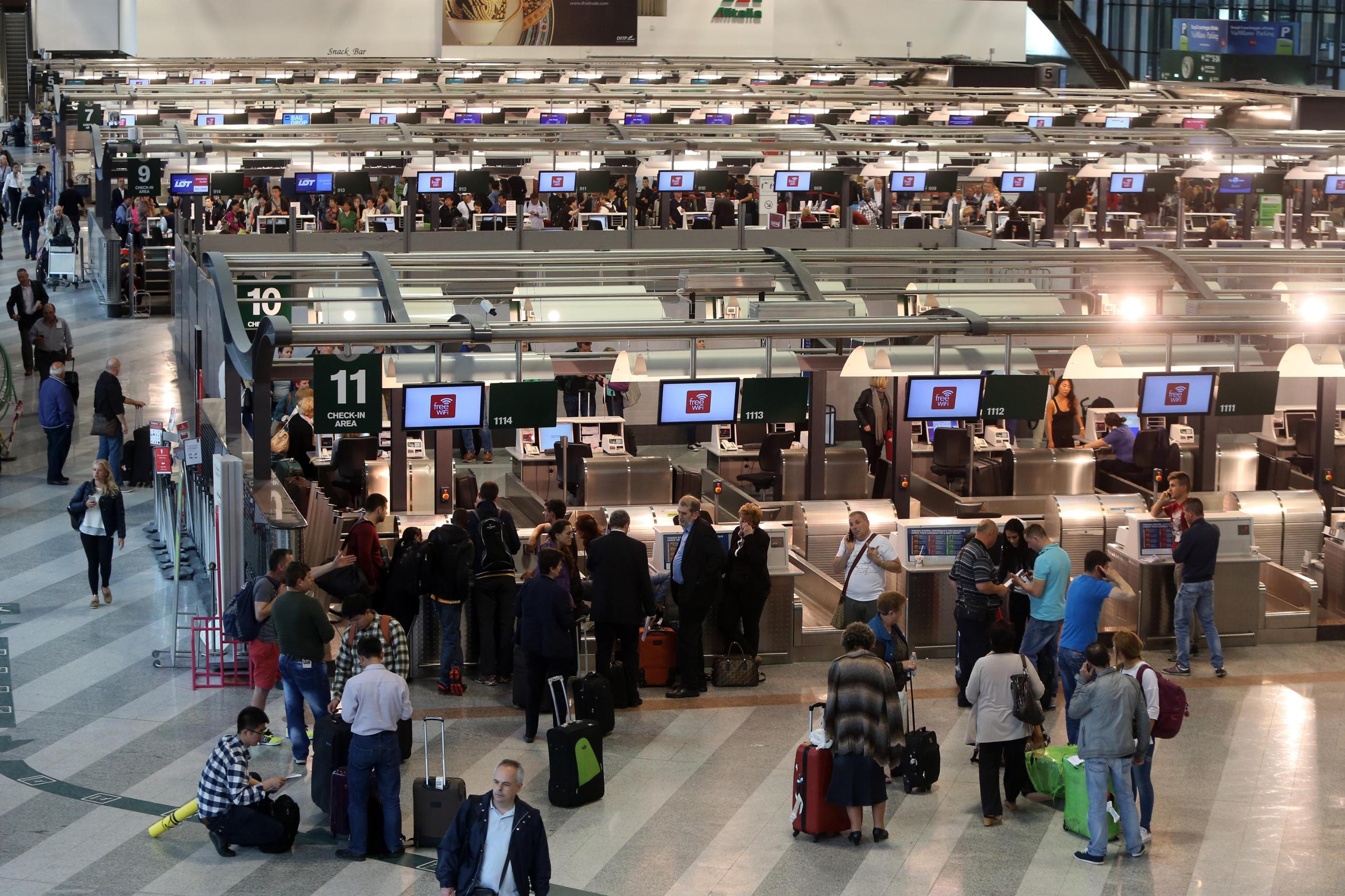 Linate e Malpensa, sciopero degli addetti ai bagagli negli aeroporti