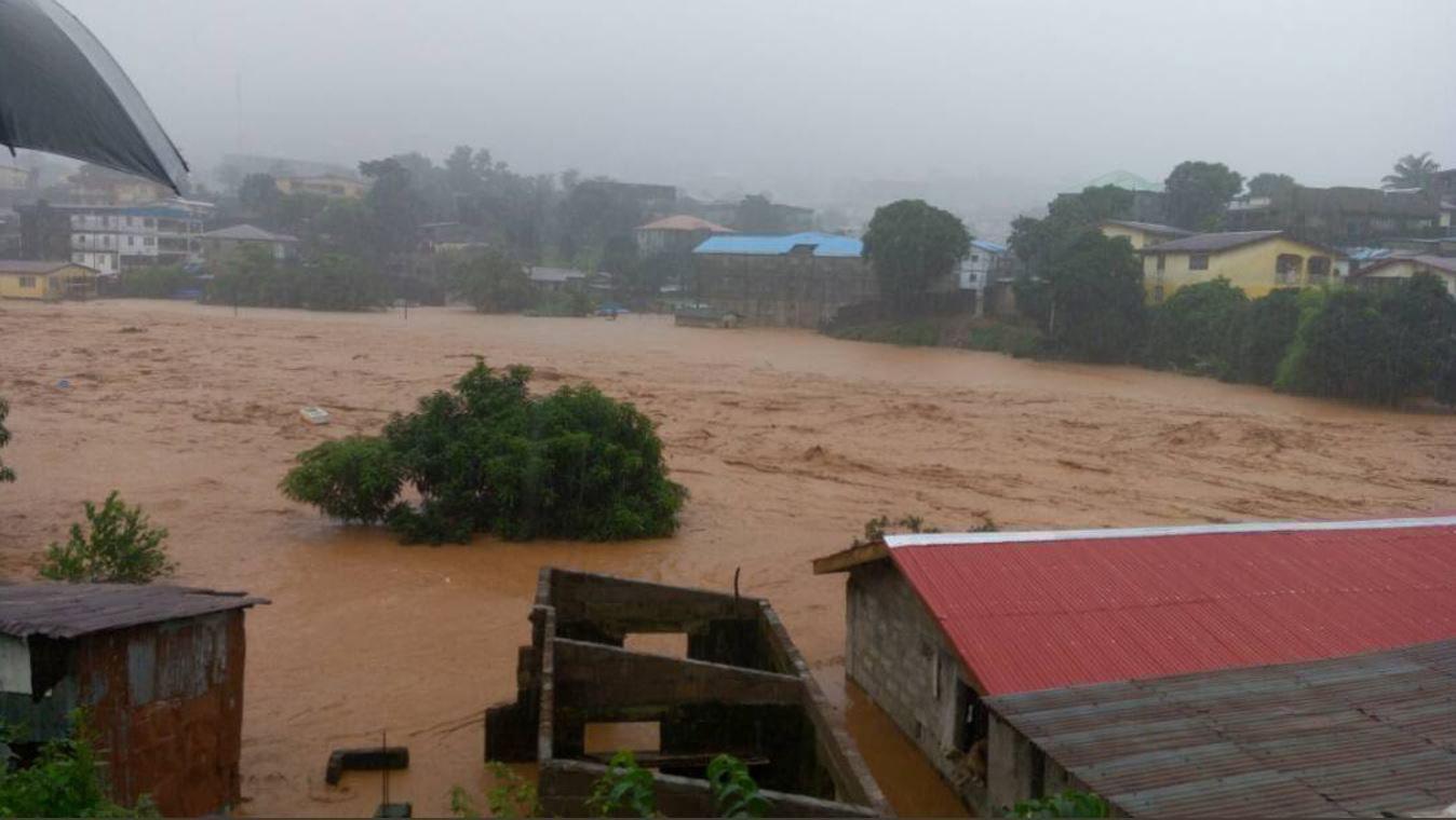Sierra Leone frana, centinaia di morti