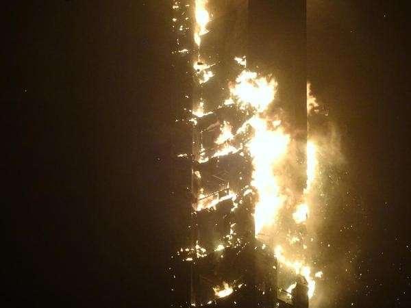 Dubai, incendio al grattacielo Torch Tower