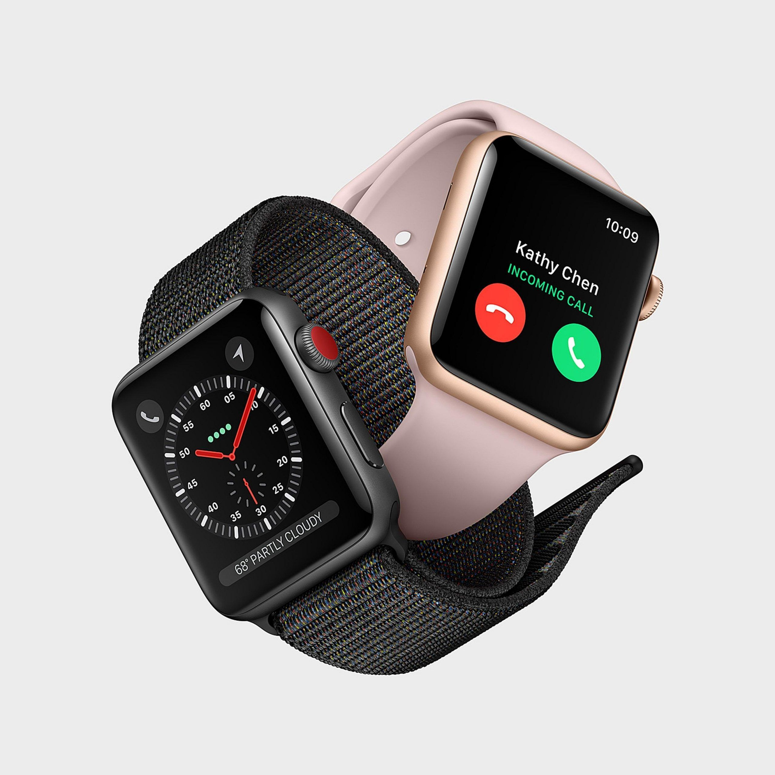 Apple Watch Series 3: integrazione della rete cellulare e processore più potente