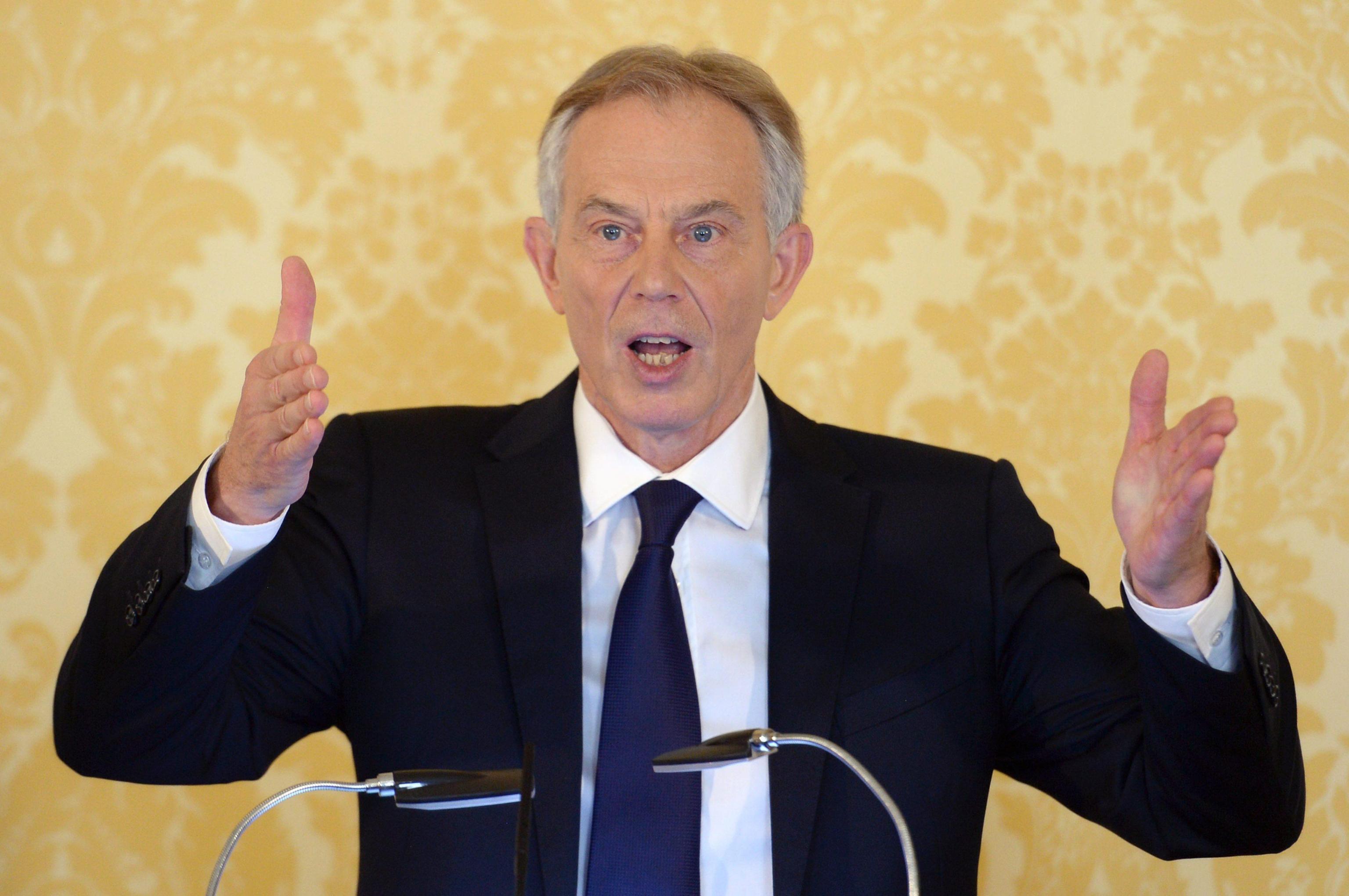 Former British Prime Minister Tony Blair responds to Chilcot Iraq inquiry